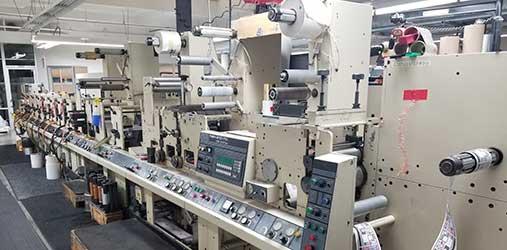 Used Flexo Printing Equipment  Narrow Web Printing Machine